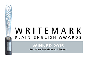Writemark Plain English Awards logo